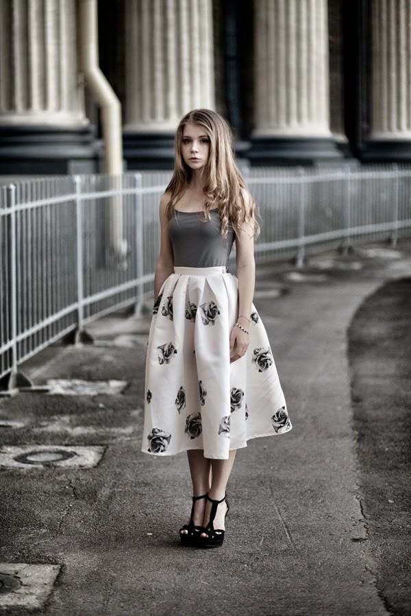 acid coke skirt top shoes