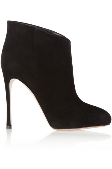 Gianvito Rossi | Suede ankle boots | NET-A-PORTER.COM