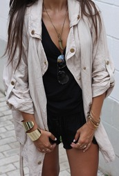 coat,jacket,beige,beige jacket,trench coat,nude,nude jacket
