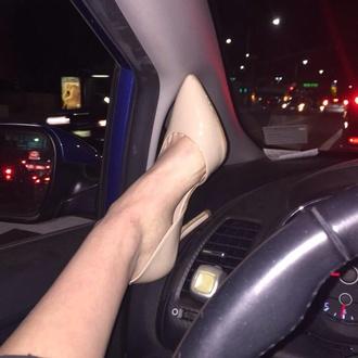 shoes nude nude high heels classy cute high heels high heels