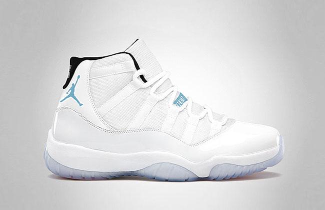 "Air Jordan 11 Retro ""Legend Blue"" aka ""Columbia"" 2014 | Sneaker Bar Detroit"