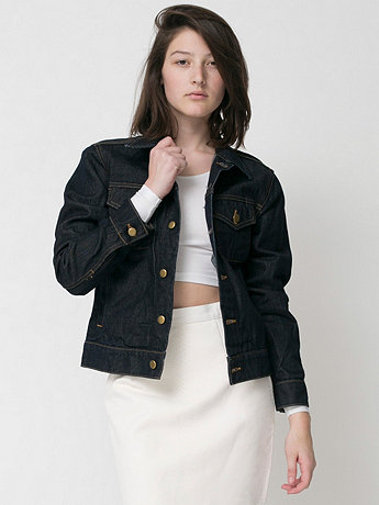 American Apparel - Unisex Denim Jacket