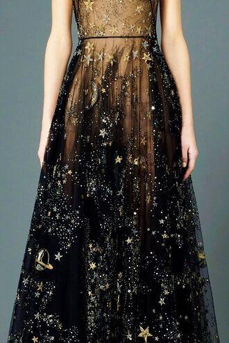 Moon Prom Dress