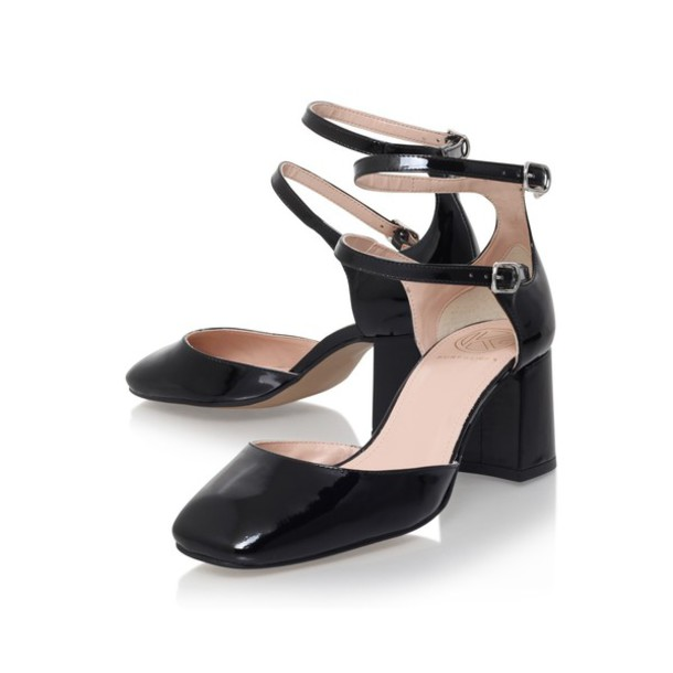 Ankle Strap Shoes Low Heel | Tsaa Heel