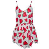 Watermelon jumpsuit