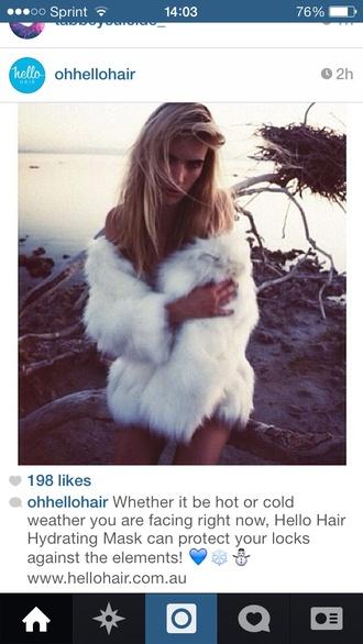 coat white fur faux fur white fur instagram white fur coat faux fur coat