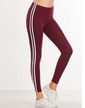 leggings,red,burgundy,white,tights