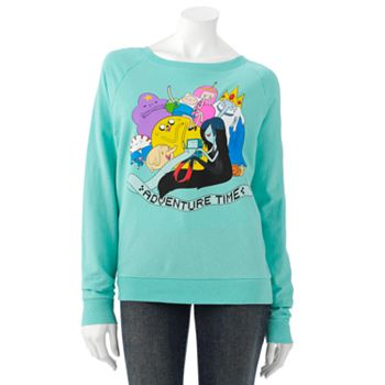 Mighty fine adventure time sweatshirt