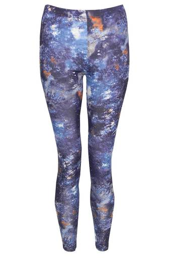 Abra Galaxy Print Legging - Pop Couture