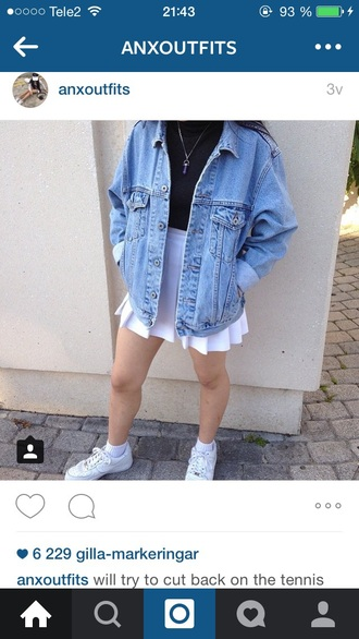 skirt pale grunge soft grunge tumblr white teen tumblr outfit teenagers jacket gloves