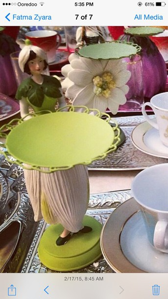 home accessory green vintage