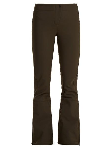 Fusalp flare green pants