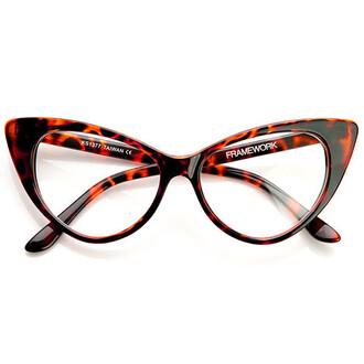 sunglasses glasses cat eye clear frames