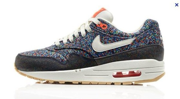 shoes air max nike shoes nike x liberty pixel nike air max 1 nice colorful mix