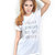 Stressed Depressed But Well Dressed Trendy Women Teen Clothing Top Tumblr Screen Printed Fashion T Shirt