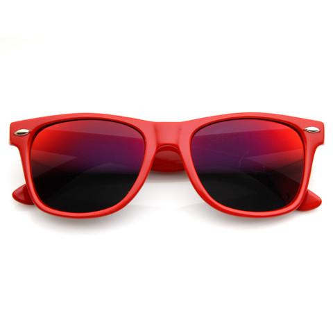 Retro Revo Color Mirror Lens Wayfarer Sunglasses 8126