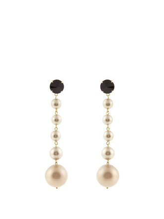 ball earrings pearl jewels