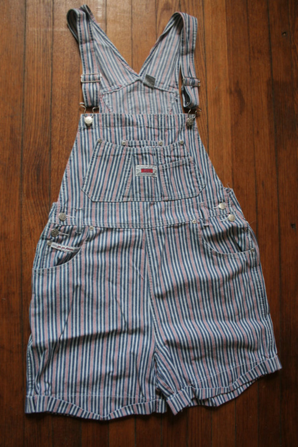 romper overalls grunge 90s style shortalls