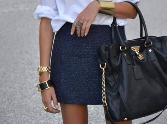skirt short skirt blue