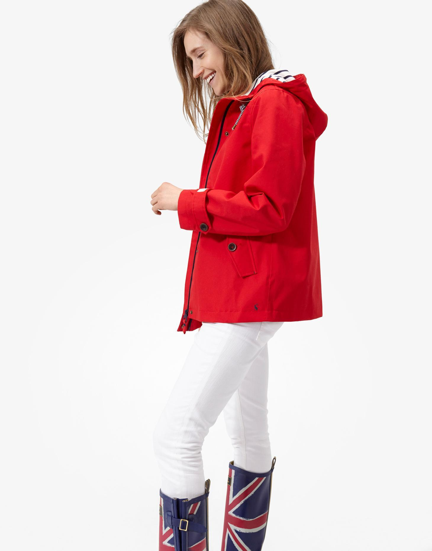 Red Waterproof Jacket | Joules US