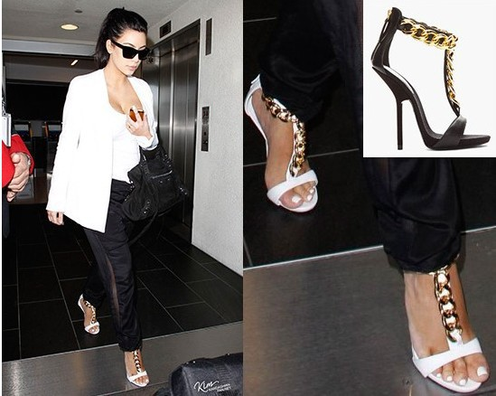large size 35 42 brand Gold chains party sandals 2013 Summer new arrive pumps the brand fashion high heels, sexy shoes-in Pumps from Shoes on Aliexpress.com