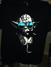 t-shirt,yoda