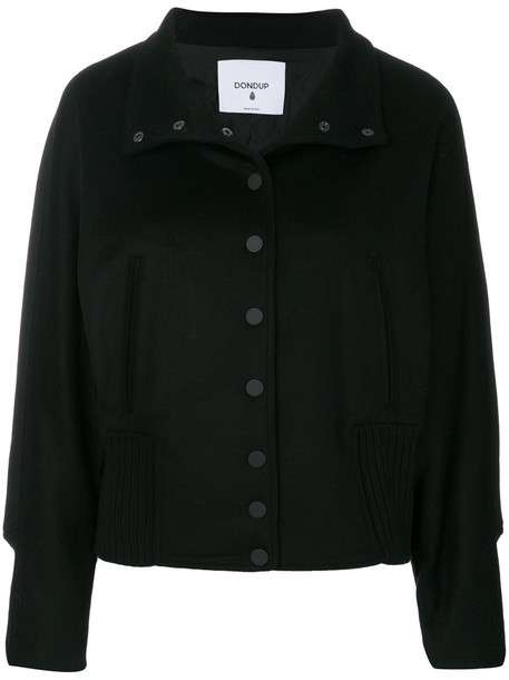 jacket bomber jacket women black wool
