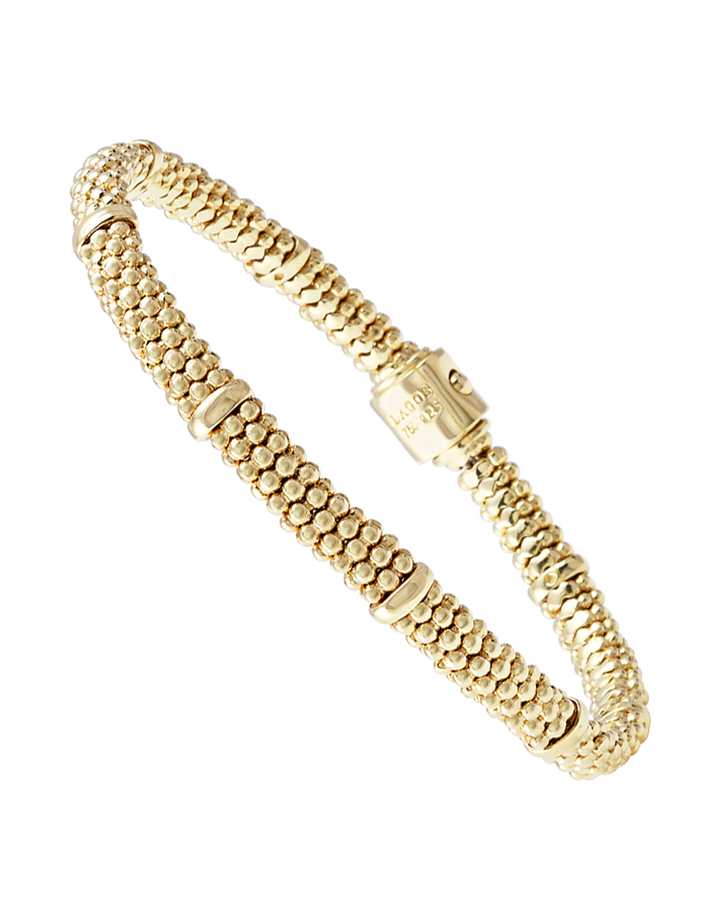 Gold Beaded Bracelet | Caviar Gold | LAGOS Jewelry