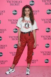 pants,camo pants,camouflage,red camo pants
