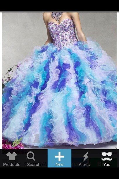 dress color cut sparkles