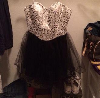 dress black homecoming dress