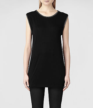 Femme Ita Tee (Black) | ALLSAINTS.com