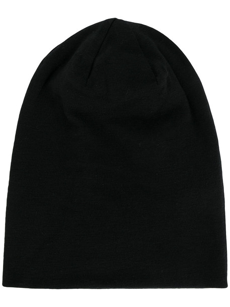 oversized beanie white black hat
