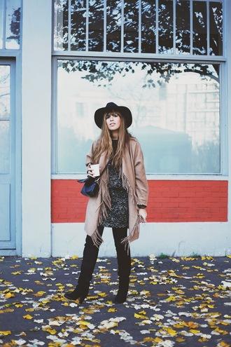 blogger fringes fringe and frange sweater dress