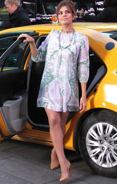 dress eva mendes short dress