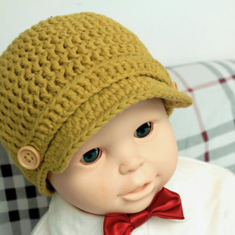 CROCHET NEWBORN BASEBALL CAP ? CROCHET PATTERNS