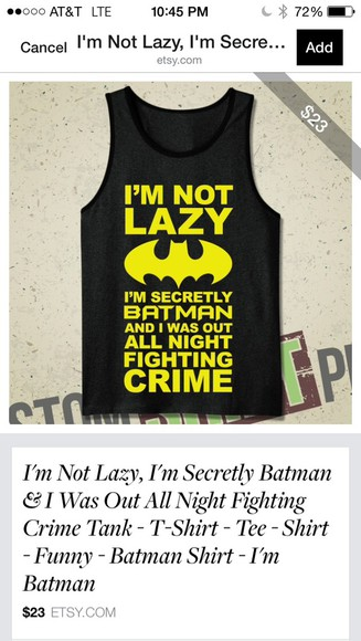 batman swag yellow black super hero