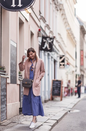 bekleidet blogger dress bag coat sunglasses jewels shoes