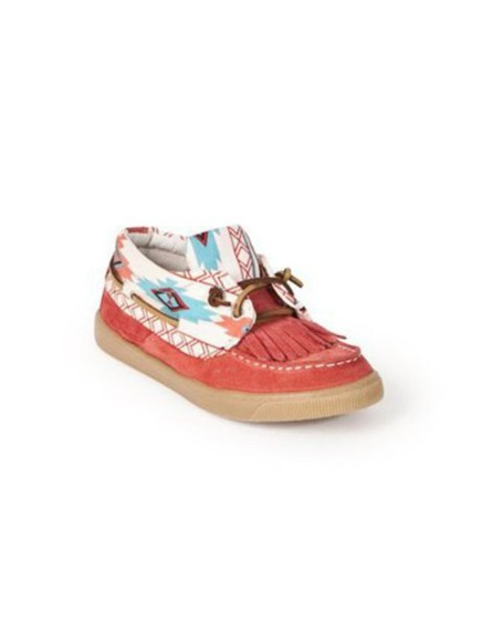 shoes sneakers aztec fringe and frange boatshoes loafers indian