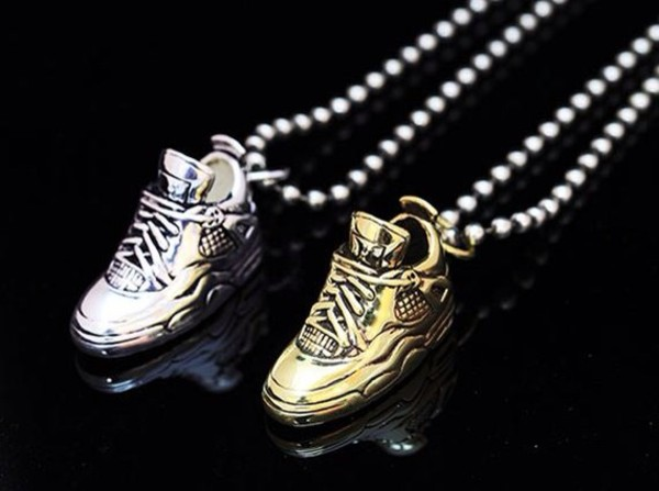 jewels sneaker necklace necklace