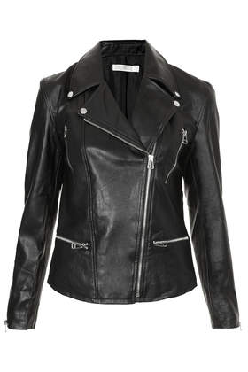 **Super Biker PU Leather Jacket by Jovonnista - Jackets & Coats  - Clothing  - Topshop