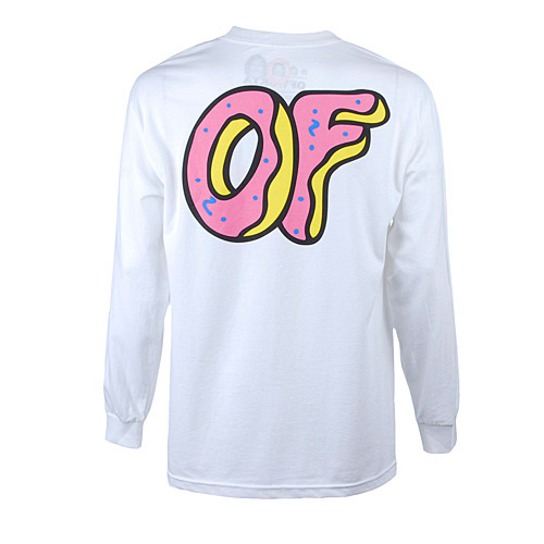 Of Donut Long Sleeve / White - Livestock
