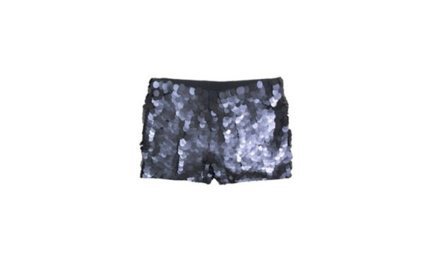 shorts black Sequin shorts