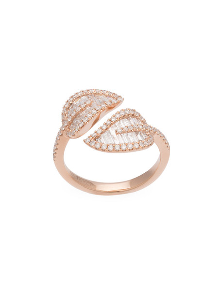 Anita Ko women ring gold grey metallic jewels