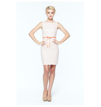 classic classy spring simple boat neck high neckline short dress lauren conrad semi formal boat neckline dress