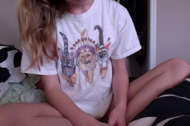t-shirt cats t-shirt