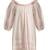 Esther balloon-sleeved cotton nightdress
