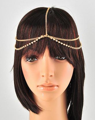 jewels head jewels headband headchain gold chains gold jewelry head chains rhinestone rhinestones bling trendy stylish