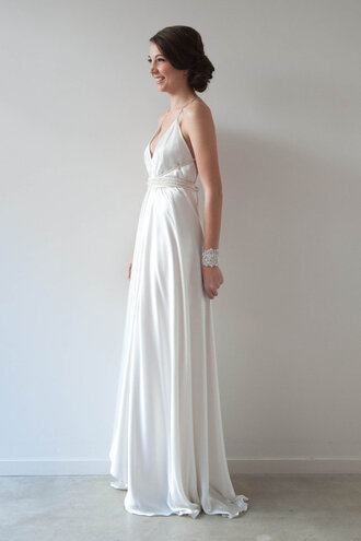 dress off-white white prom prom dress similar for less similar prom dresses under 100 hipster wedding