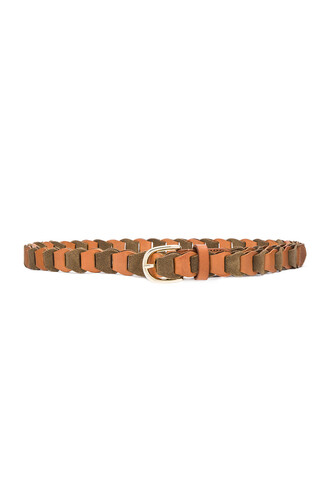 belt leather suede